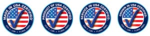 Four In USA seals