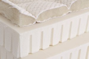 Crosscut view of Spindle Mattress
