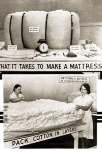 ''Make Cotton Mattress at Home'' flyer