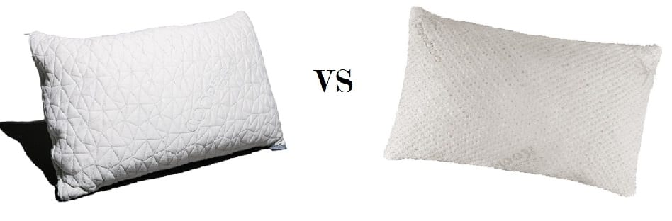 Coop Home Goods Original vs Snuggle-Pedic Ultra Luxury Pillows