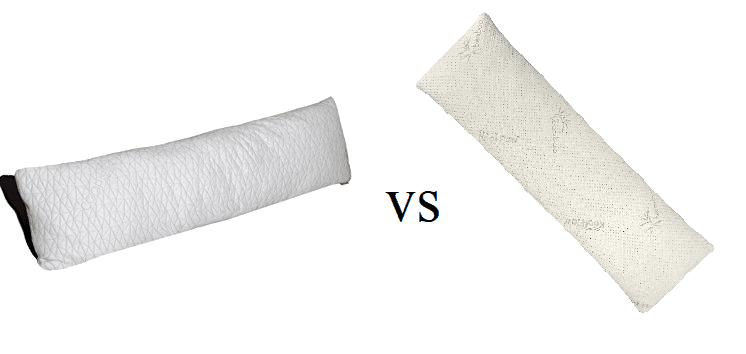 Coop Home Goods Total Body Pillow vs. Snuggle-Pedic Body Pillow