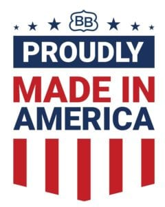 Proudly Made in America by BB