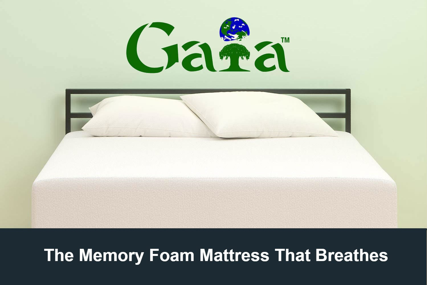 Gaia by Tempflow - The Memory Foam Mattress That Breathes